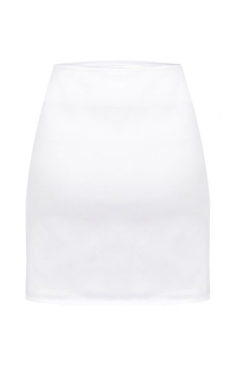 Criss Cross Skirt - White