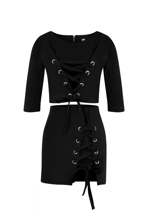 Criss Cross Set - Black