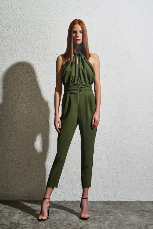 Maeve - Braided Jumpsuit - Olive